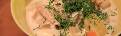 Lähiruokalautasella: Hämärähommien tuloksena voi olla herkullinen keitto